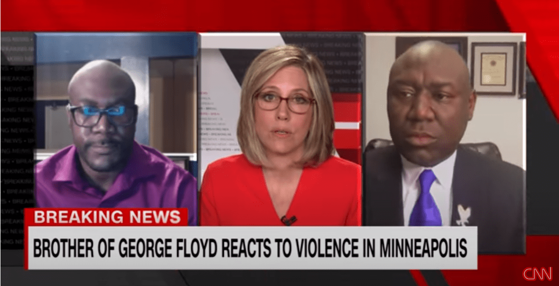 Trump Didn't allow the George Floyd Brother to speak