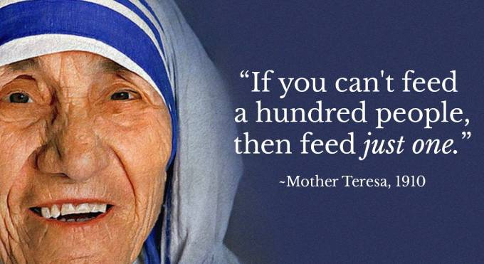Mother Teresa 110th birth anniversary