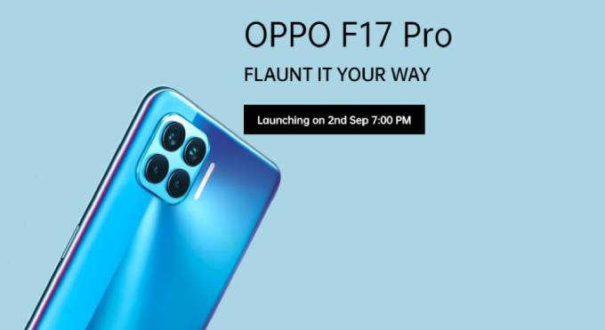 Oppo f17 and Oppo F17 Pro will be launched in India today