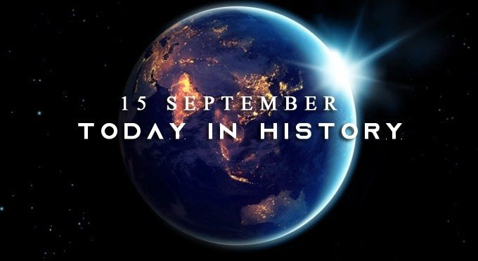 Today in history 15 September