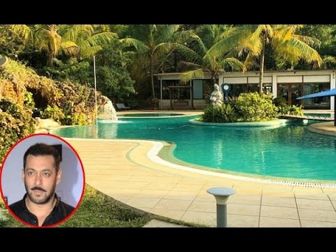 Salman Khan Farmhouse swimming pool