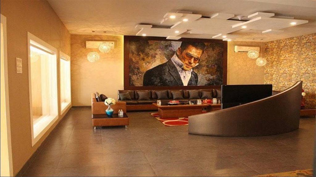 Salman khan house interior