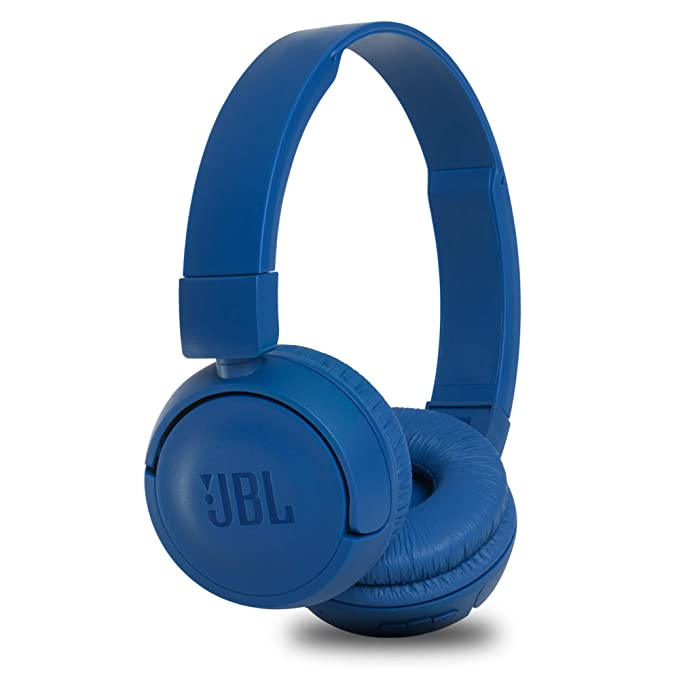 JBL T460BT Extra Bass Wireless On-Ear Headphones with 11 Hours Playtime & Mic (Blue)