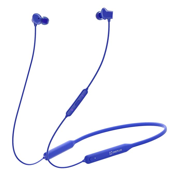 OnePlus Bullets Wireless Z in-Ear Bluetooth Earphones with Mic (Blue)