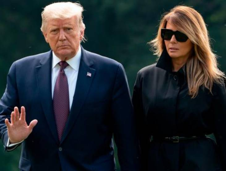 Donald Trump and first lady Melania test positive for Corona Virus