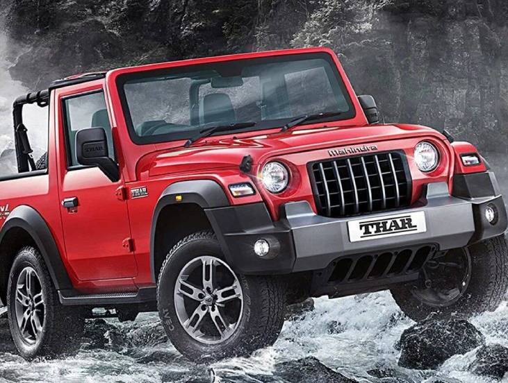 New Mahindra Thar Launched