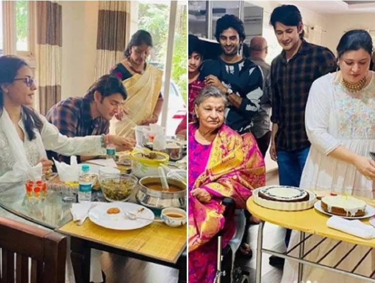 Priyadarshini, Mahesh Babu Sister Celebrates her Birthday with Husband Sudheer Babu