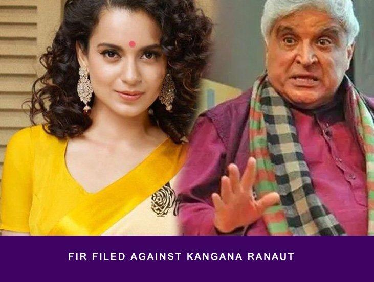 FIR Filed Against Kangana Ranaut by Javed akhtar