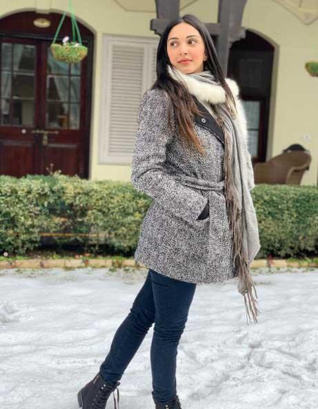 Hot Kiara Advani winter look