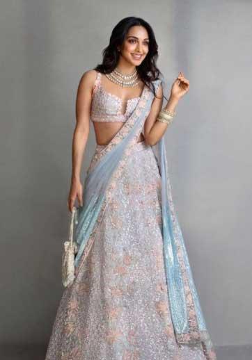 Kiara Advani in Saree Traditional Looks