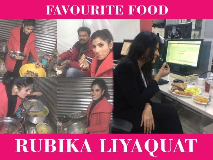 Rubika Liyaquat Favorite Food