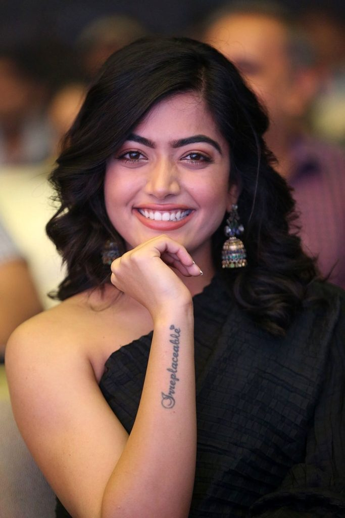 National-Crush-of-india-rashmika-mandanna-Tattoo
