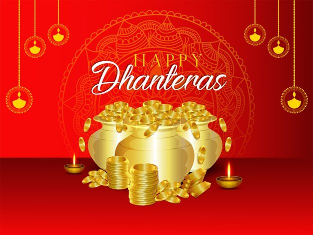 Happy Dhanteras Wishes Quotes, Images