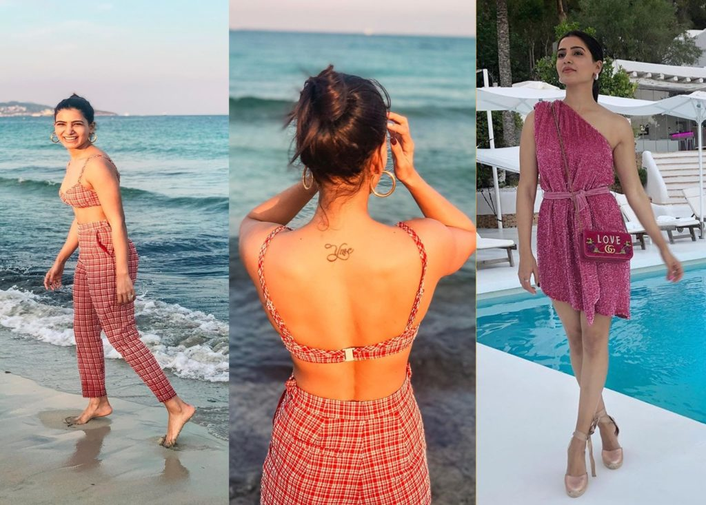 Samantha Back Tattoo, Image and Meaning