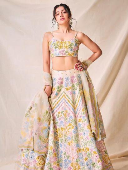 Divya Khosla Floral Look