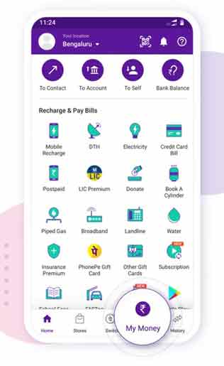 Follow these steps to change upi pin in phonepe