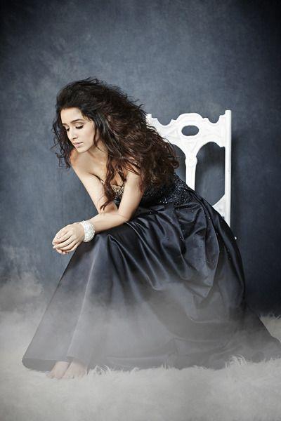 Shraddha Kapoor pic in Black