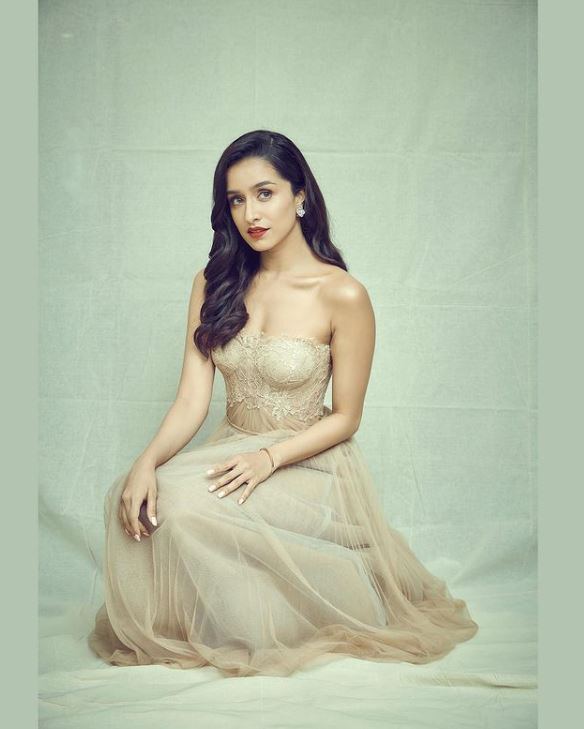 Shraddha Kapoor hot look in gown