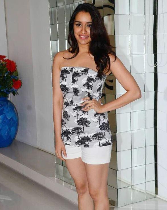 Shraddha Kapoor in short dress