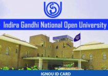 IGNOU ID Card: Steps for Download 2020-2021