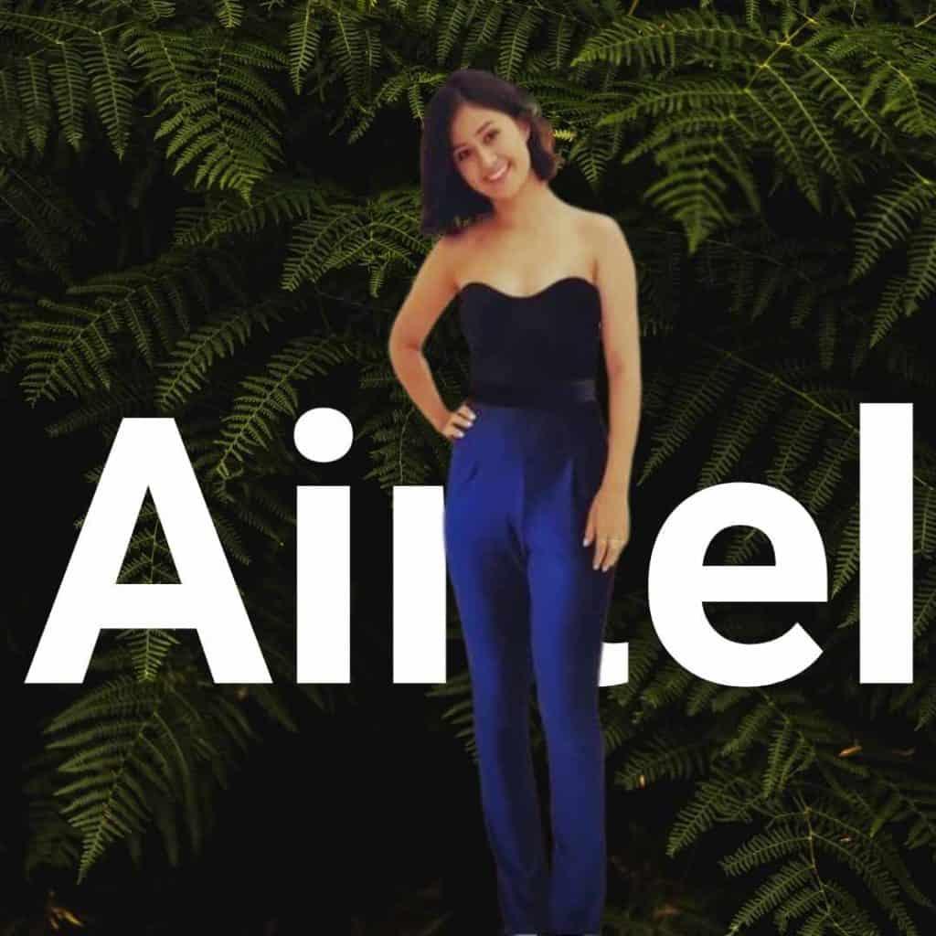 Airtel Ad Girl Sasha Chettri Photo