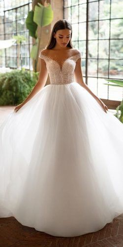 Ball Gown Off the shoulder Bridal Dress