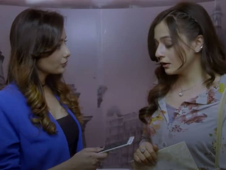 Maya-2-Lesbian Indian Web series